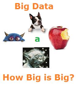 How Big is Big in Big Data?