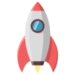 image of rocket to symbolize the C-Store guaranteed sales growth